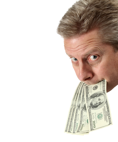 Put Your Money Where Your Mouth Is ID 27807499 © Darren Liby   Dreamstime.com