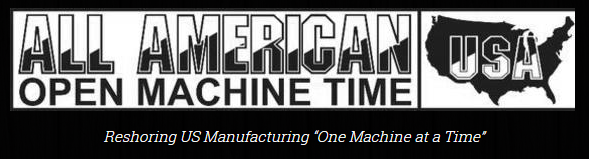 Logo - All American Open Machine Time