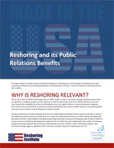Reshoring White Papers