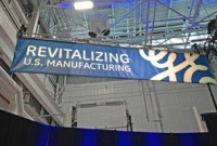 GE Revitalizing Manufacturing Sign 800