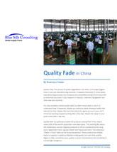 China Trade and China Tariffs