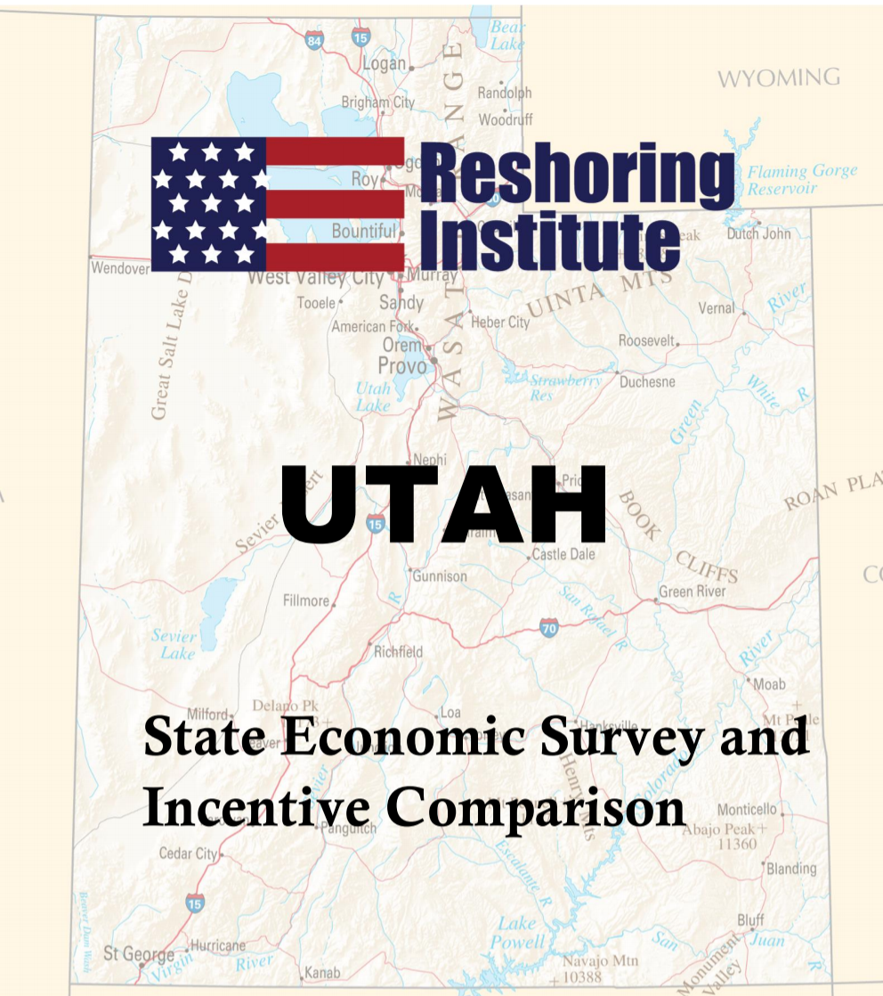 Utah Economic and Incentive Profile