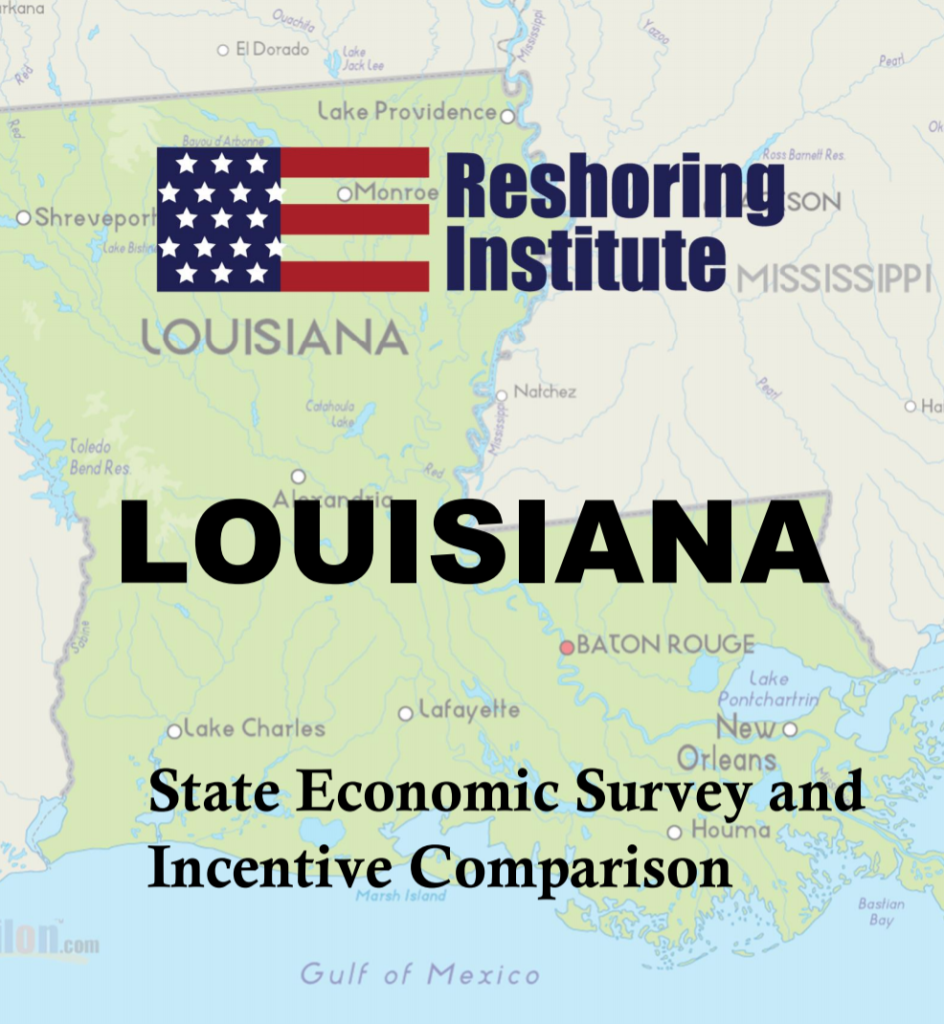 Reshoring louisiana