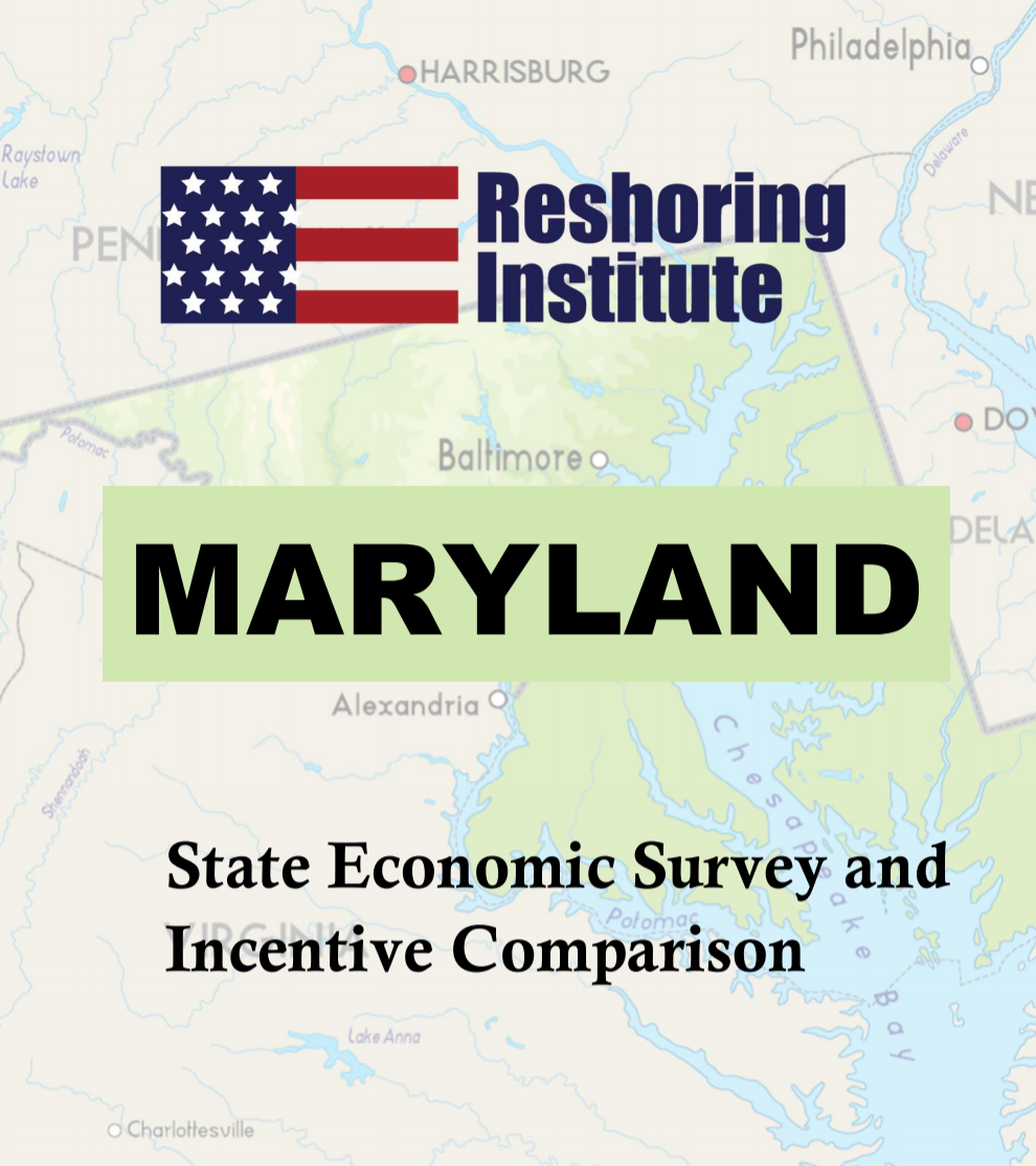 Maryland Economic and Incentive Profile