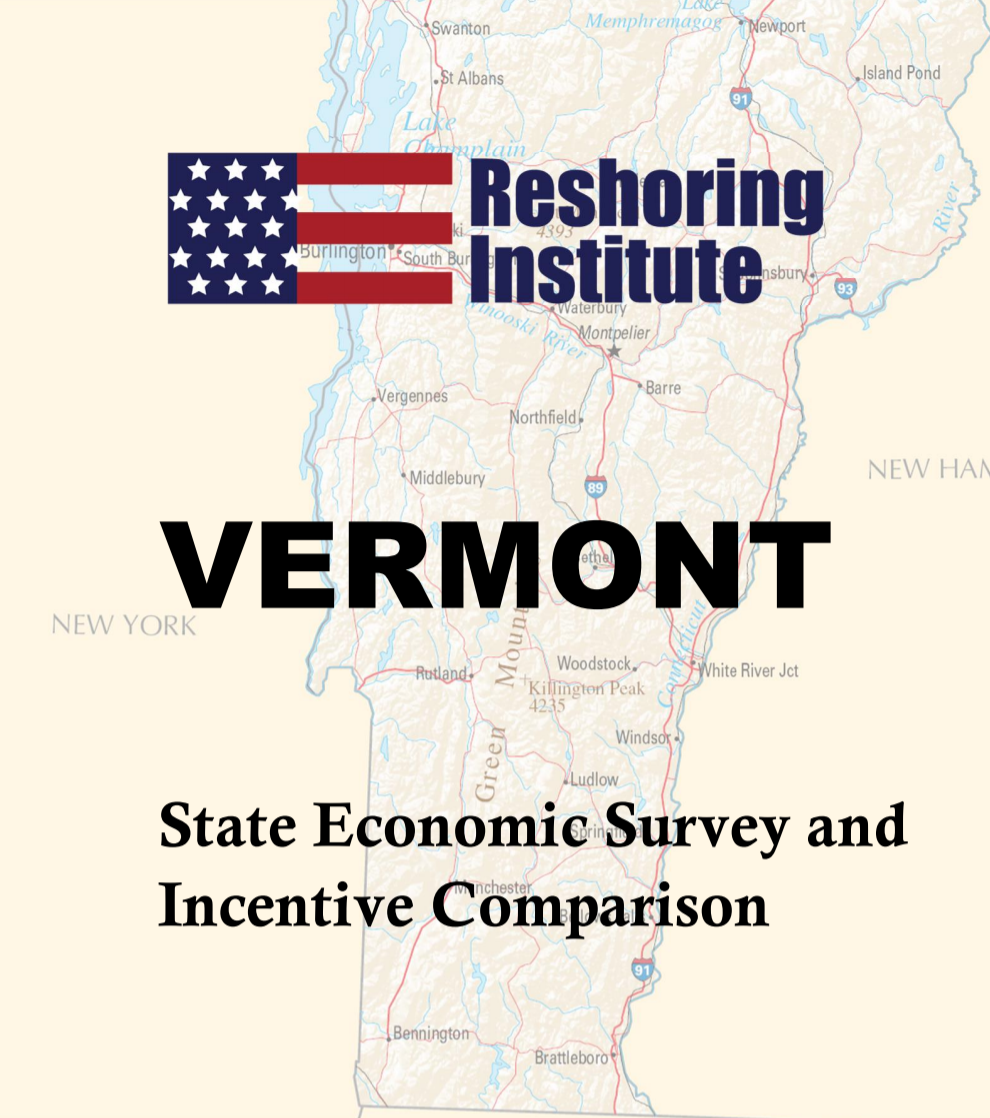 Vermont Economic and Incentive Profile