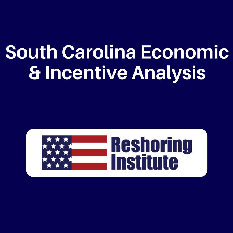 South Carolina Economic & Incentive Analysis