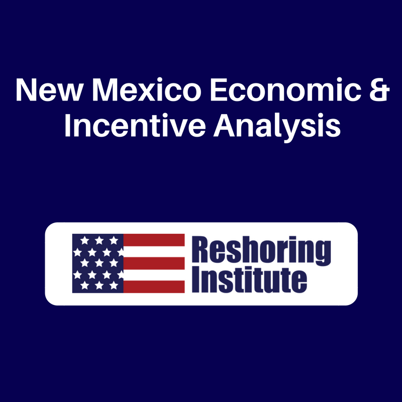 New Mexico Economic & Incentive Analysis