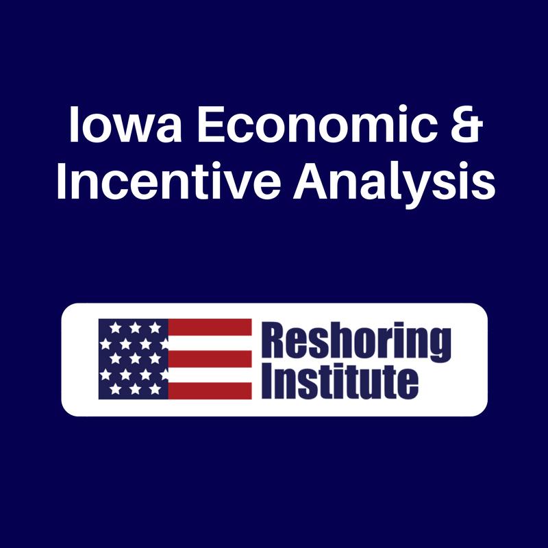 Iowa Economic & Incentive Analysis