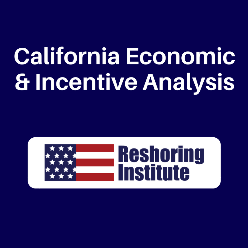 California Economic & Incentive Analysis