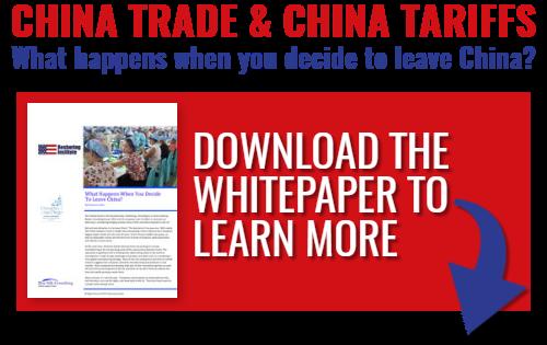 reshoring china trade and china tariffs